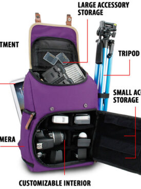 Camera Back Pack Bags